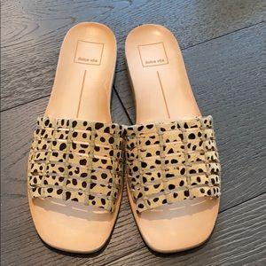 Super cute slip on sandals